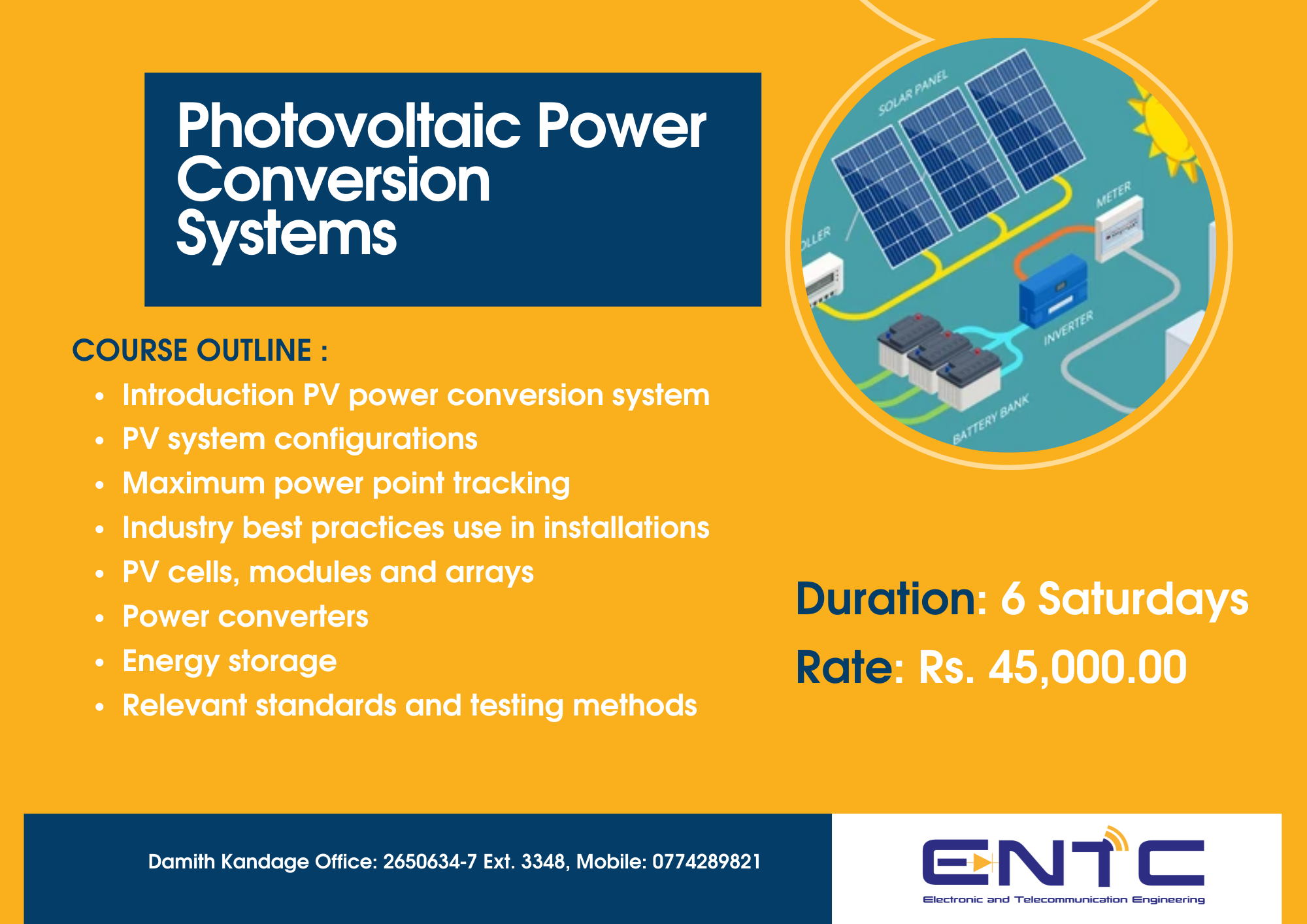 Photovoltaic Power Conversion Systems