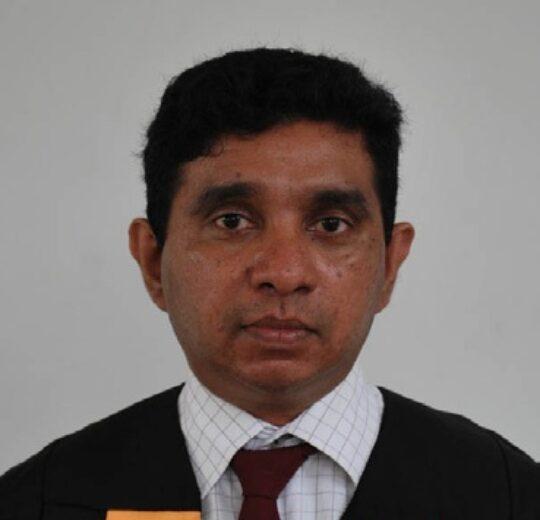 Dr. Ajith Pasqual