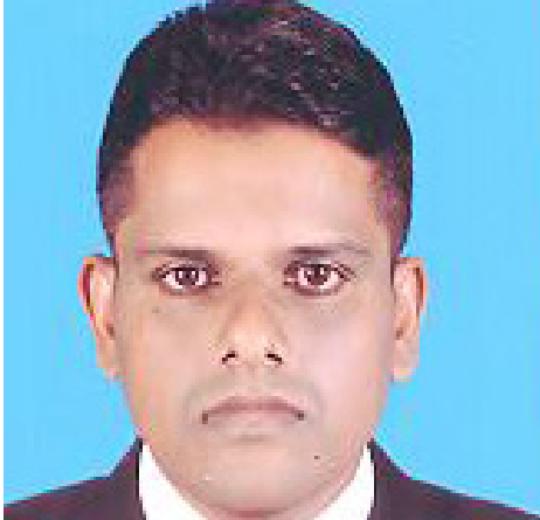 Mr. Weditha Dissanayake