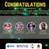 ENTC Team Becomes the 2nd Runners Up of the IEEE Video and Image Processing Cup 2021